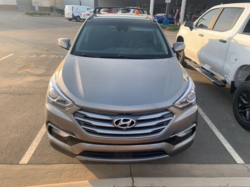 Image 10 Coche Americano usado Hyundai Santa Fe 2017