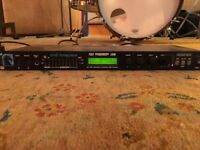 Pre-Owned Rack-mount Mark Of The Unicorn Midi Timepiece.