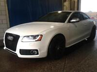 Audi S5 with Saddle Red Int.