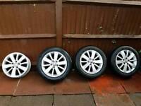 Volkswagen Golf mk6 (2012) alloy wheels