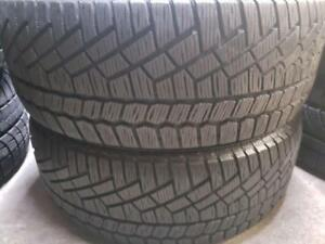 2 winter tires continental 215/50r17