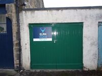 AVAILABLE NOW - Single Lock-up Garage To Rent - Central Edinburgh Location - Safe and Secure