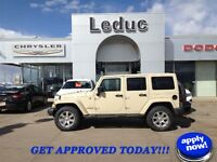 2012 JEEP WRANGLER SAHARA - FULLY LOADED and YOU ARE APPROVED!