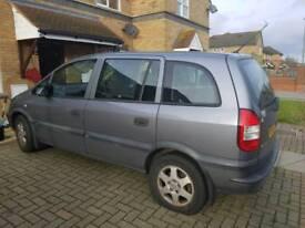 Vauxhall zafiera