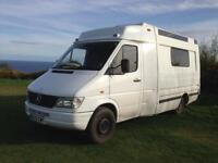 Mercedes sprinter converted campervan
