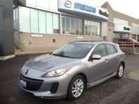 2012 Mazda MAZDA3 GS SPORT MOONROOF HEATED SEATS