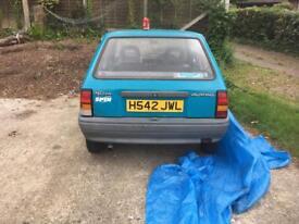 Vauxhall nova spin