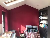Painter available at short notice! Studio flat 250-450