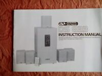 Acoustic Solutions Active Home Theatre System Model DS 833