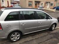 Vauxhall zafira, 1 years mot, great car with 1 small dent on back door, quick sale £1000
