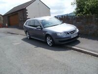 2007 SAAB 9.3 AIRFLOW ESTATE 1.9 TDI - GREAT CONDITION - AVERAGE 50MPG!