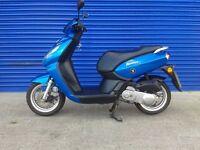 2012 peugeot kisbee 50cc moped , very tidy 12 months mot hpi clear