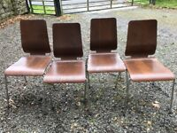 IKEA Kitchen Chairs: Set of 4
