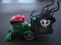 billy goat sv50h pro wheeled leaf vac, quiet series, pro range, 5.5hp honda easy start engine
