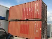 20ft x 8ft Used Shipping Container's FOR SALE Fully Certified for Export site store portable cabin