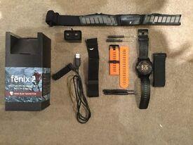 Garmin Fenix 2 GPS Multisport Watch + HRM