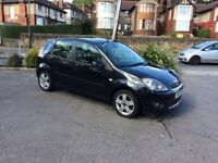 FORD FIESTA 1.4 2007 BLACK MANUAL **CHEAP TO RUN** MINT CONDITION**