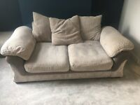 Second hand Double sofa bed and foot stool with storage