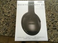 Bose QC35 Active Noise Cancelling Headphones - Boxed Brand New - Bargain !!