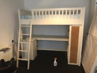 High quality wooden bunk bed
