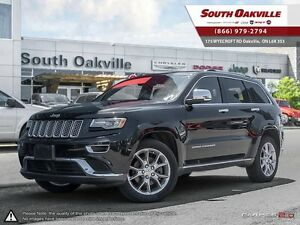 2014 Jeep Grand Cherokee Summit   IMMACULATE   DUAL-ROOF