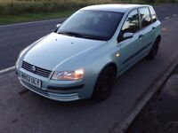 2002 52 reg fiat stilo 1.2 cheap to insure trade in to clear £295 cheaper px welcome