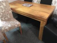 Solid oak furniture set ( look at pics )