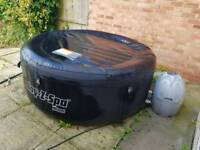 Lay z spa lay-z-spa Miami hot tub with chemicals