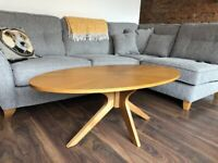Wooden Malmo coffee table