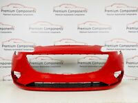 VAUXHALL CORSA E GENUINE RED FRONT BUMPER WITH GRILL 2014-2019 [PC111]