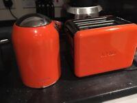 Kenwood Mix Orange Toaster