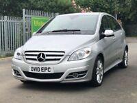 2010│Mercedes-Benz B Class 2.0 B200 CDI Sport CVT 5dr│1 Former Keeper│1 Year MOT│Leather - Heated