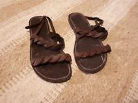 Unworn Sandals