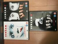 Scream dvds