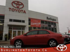 2012 Toyota Corolla LE UPGRADE PACKAGE