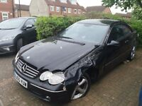 BREAKING Mercedes CLK 270 CDI 2005 Automatic Complete Car for Sale