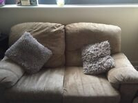 Comfy Sofa for sale in good condition , cushions included , removable covers