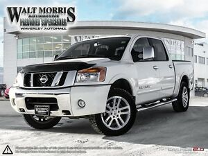 2012 Nissan Titan SL (A5) - LEATHER, HEATED SEATS, PWR SUNROOF