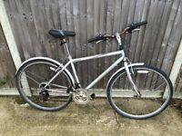 mens raleigh hybrid bike cheap ideal students bike