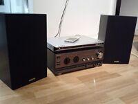 SONY AMP / SANYO SPEAKERS