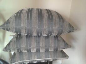 Three Large Cushions