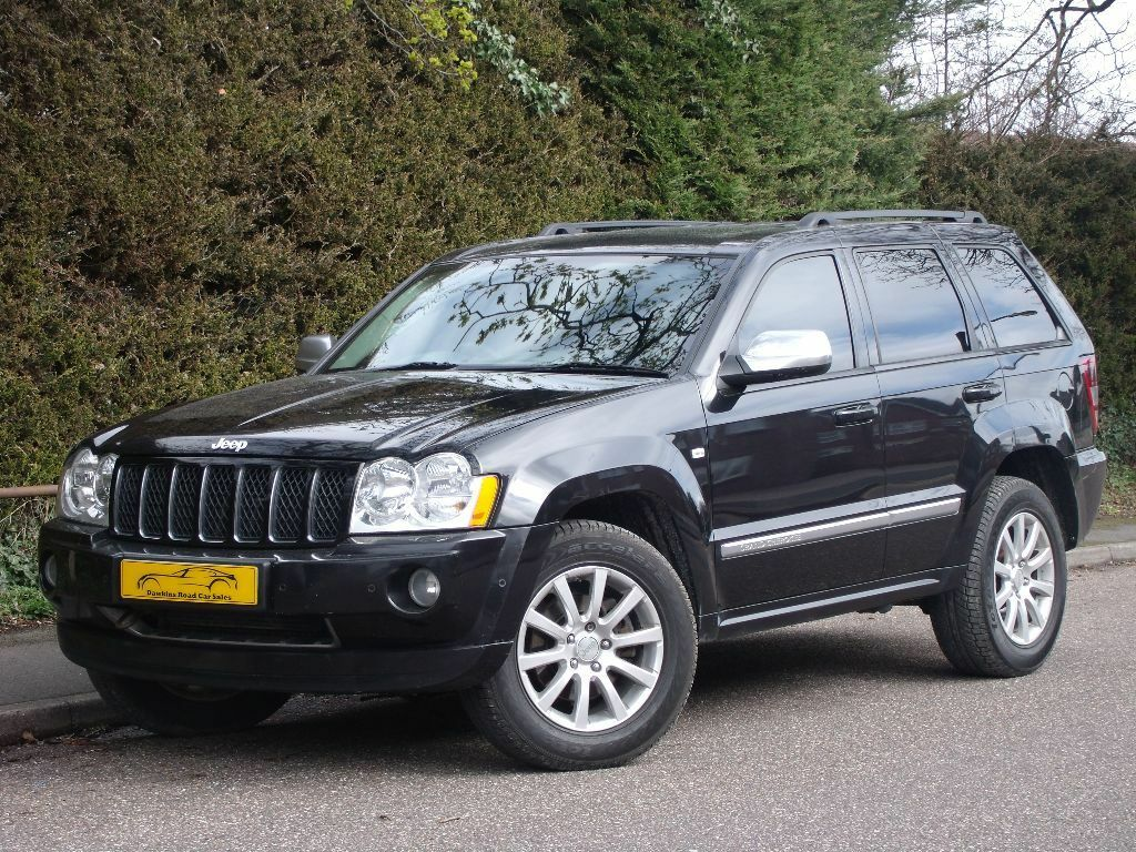2006 jeep grand cherokee overland 3 0 diesel engine sat nav heated seats in poole dorset. Black Bedroom Furniture Sets. Home Design Ideas