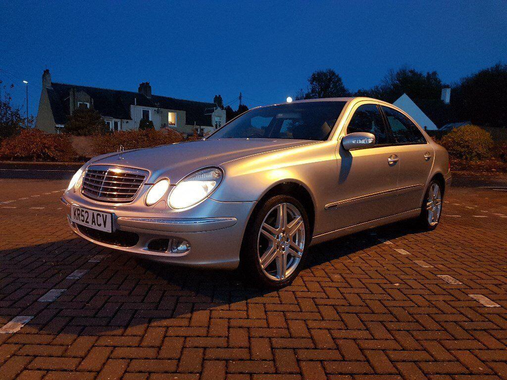 Mercedes benz e240 elegance auto silver 18 genuine amg for E240 mercedes benz