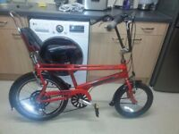 raleigh chopper the red hot one