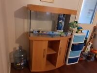 Brand new complete fish tank set up