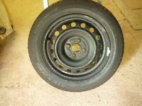 WHEEL WITH TYRE 175 65R15 84H PCD 100mm