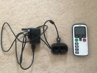 Doro Secure 580 3G SIM-Free Mobile Phone - White