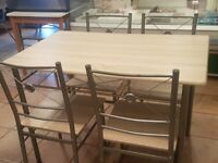 2 sets of these tables and chairs need away asap £30 ONO