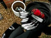 Golf clubs and accessories