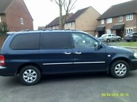 2006 diesel 7 seater kia sedona years mot 2 owners from new